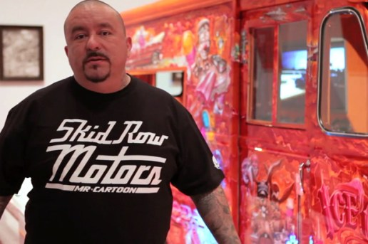 OffTheWall.TV: Mister Cartoon @ Art in the Streets Video