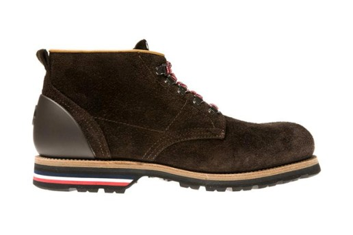 Moncler Washed Suede Boots