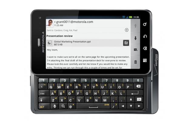 Motorola Verizon Droid 3