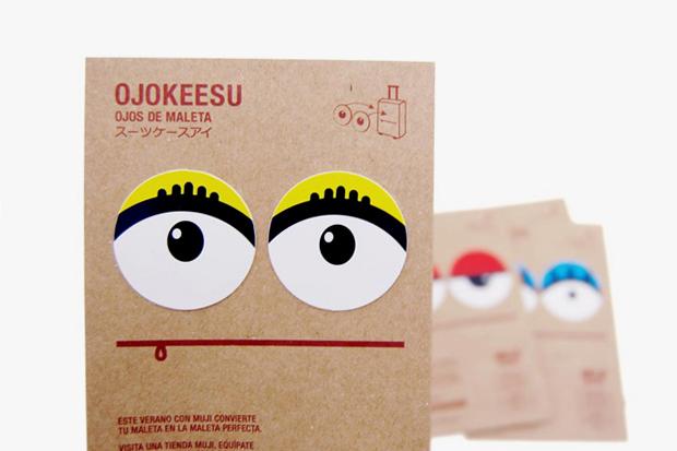 muji ojokeesus suitcase eyes