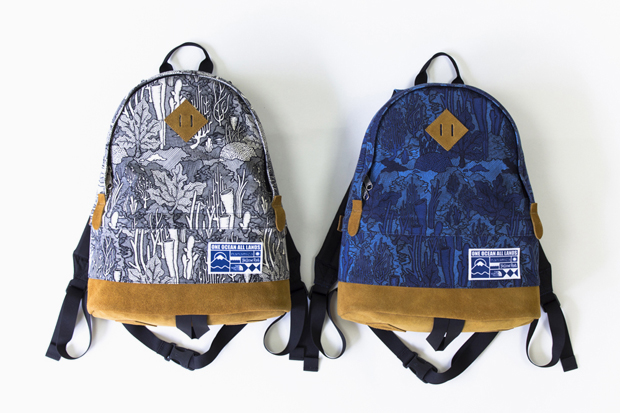 nanamica x yellow rat x the north face purple label bags