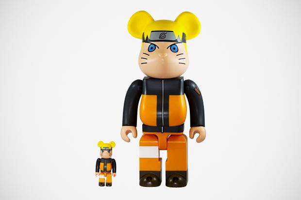 Naruto x Medicom Toy Bearbrick 100% & 400%