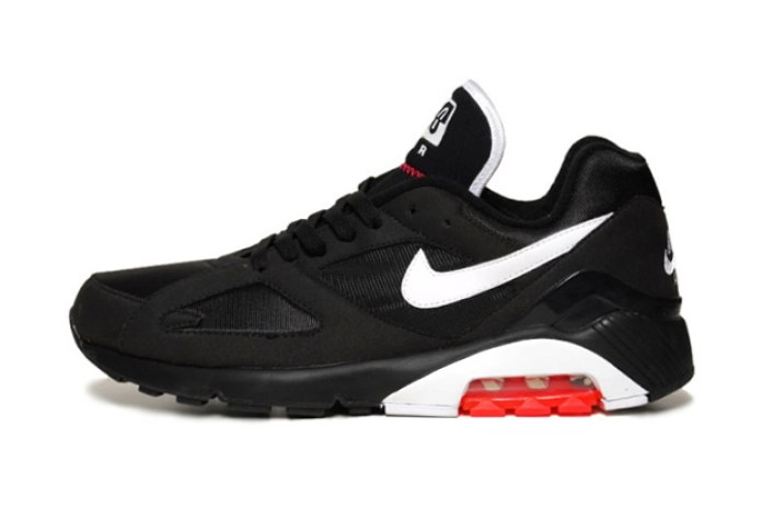 Nike Air 180 Black/White/Solar Red