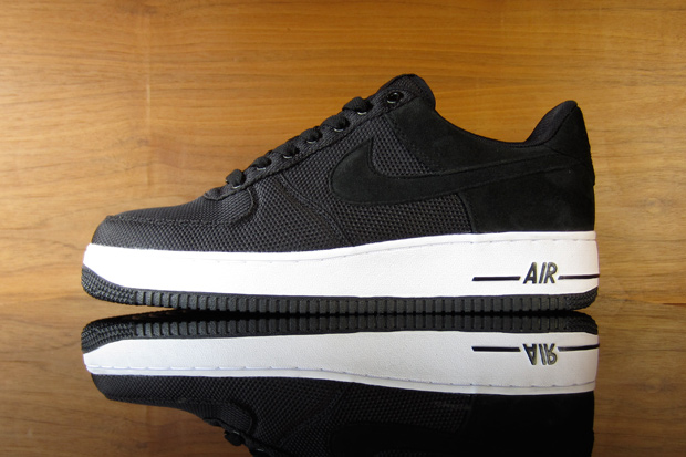 nike air force 1 premium blackwhite
