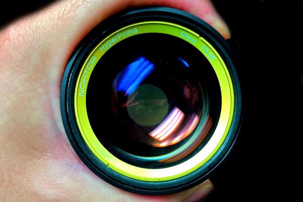 noktor hyperprime 50mm f0 95 lens
