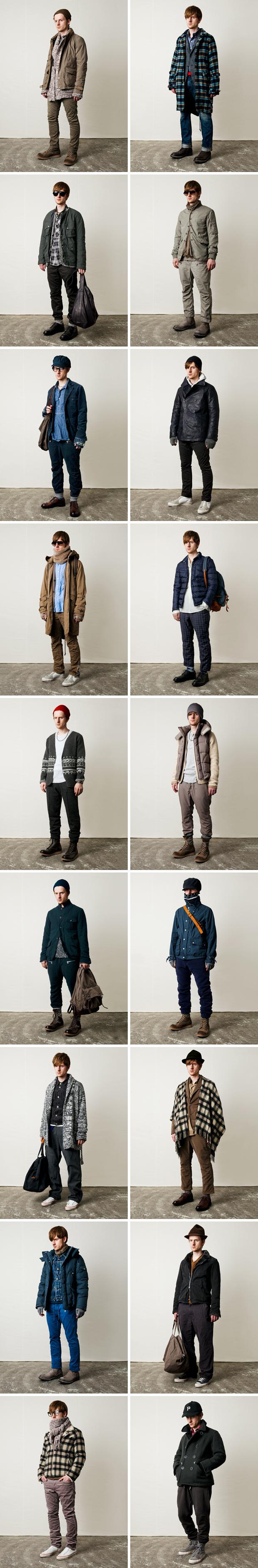 nonnative 2011 fallwinter collection