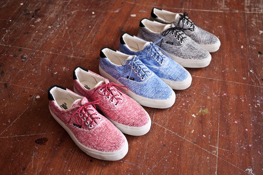Patta x Staedtler x Warrior Footwear Plimsoll Club Pack