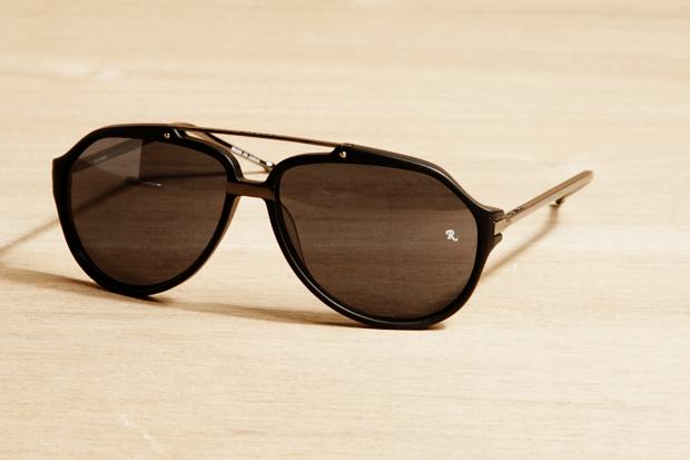 Raf Simons x Linda Farrow Aviator Sunglasses
