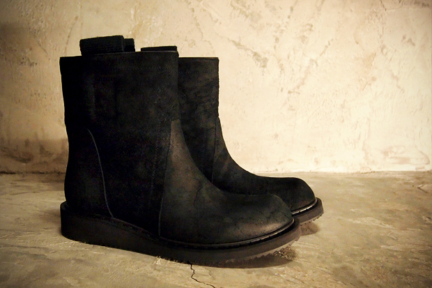 Rick Owens 2011 Fall/Winter Low Boots