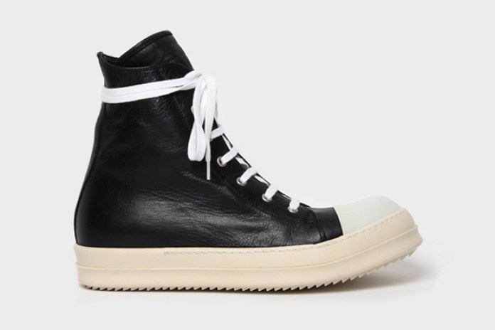 Rick Owens 2011 Fall/Winter Sneaker Boot