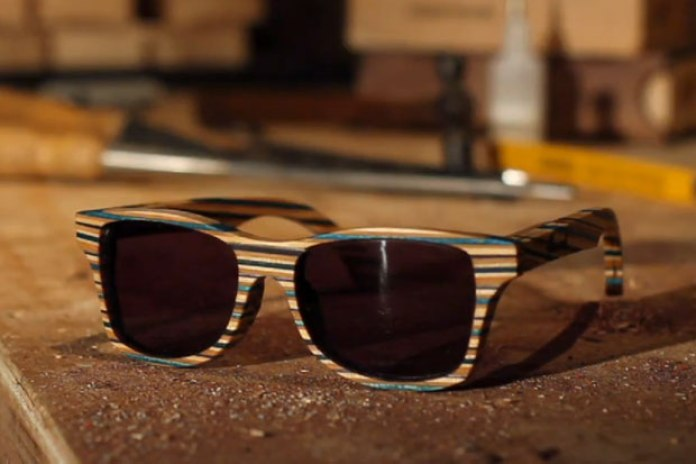 Shwood: Experiment No. 1 - Skateboard Shades (Video)