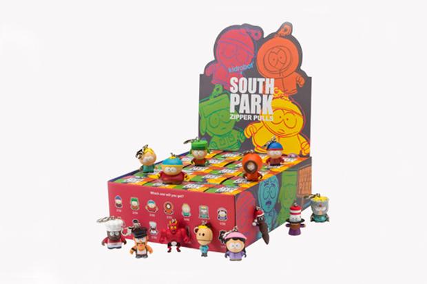 South Park x Kidrobot Zipper Pulls