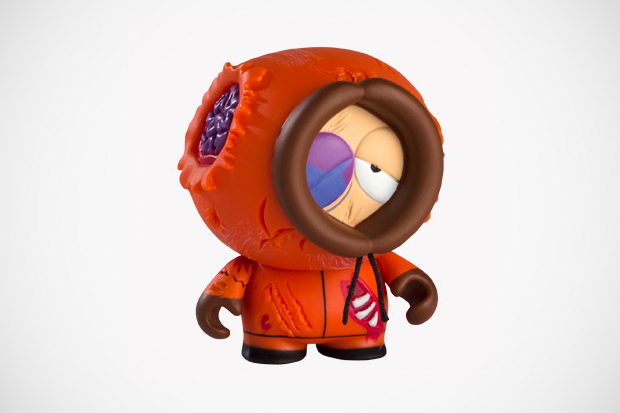 southpark x kidrobot dead kenny preview