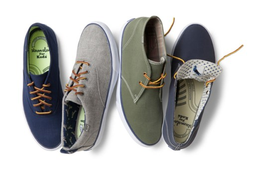 "Steven Alan x Keds ""Anchor Chukka"" Capsule Collection"