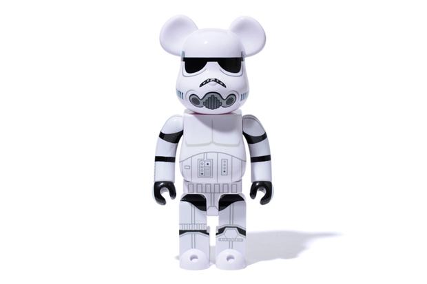 stussy x medicom toy bearbrick 400 stormtrooper