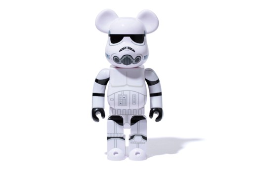 Stussy x Medicom Toy Bearbrick 400% Stormtrooper