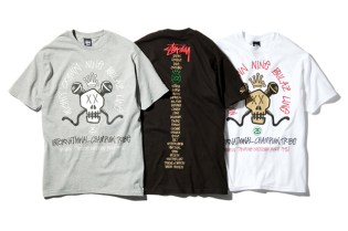 Stussy x Mighty Crown x Nine Rulaz Line T-Shirt