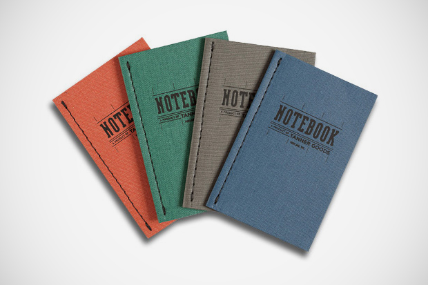 Tanner Goods Notebooks
