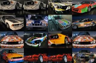 The BMW Art Car Tour
