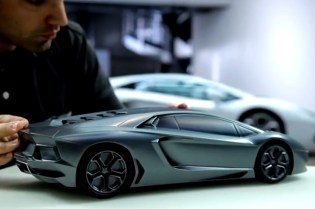 The Making of the Lamborghini 2012 Aventador LP700-4