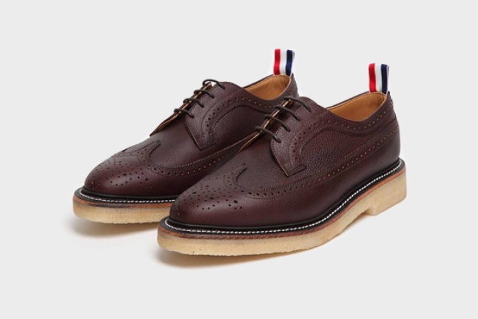 Thom Browne Scotch Grain Wingtip Brogue