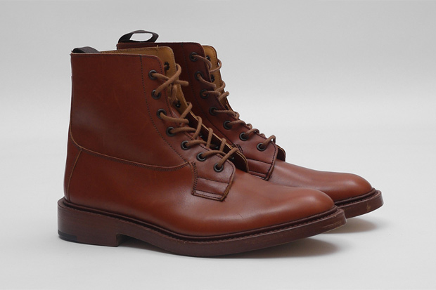 trickers super boot c marron