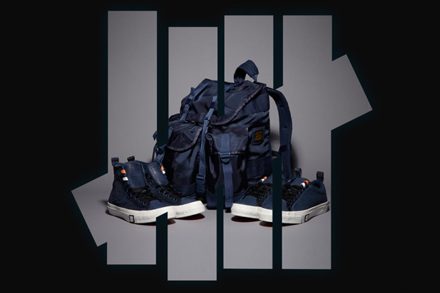 Undefeated x Converse Ballistic Capsule Line Navy