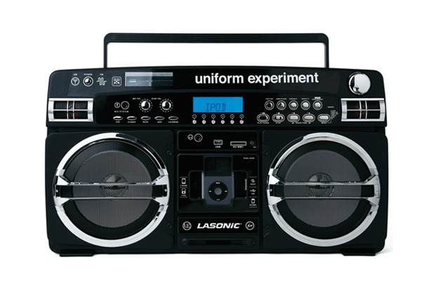 uniform experiment x LASONiC iPod Boombox