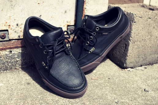 Vans California 106 Moc Black Leather