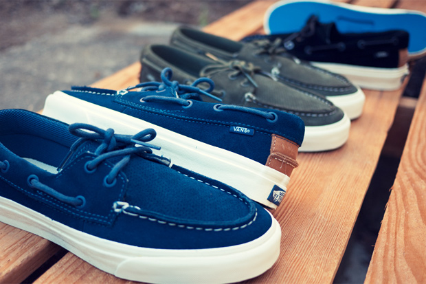Vans California Zapato Del Barco Perforated Pack