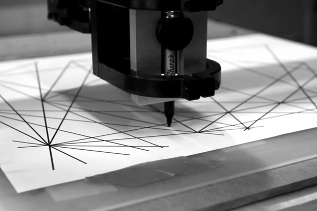Vector-Drawing CNC Machine Video