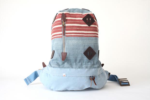 visvim SUMMIT PAPOOSE STRIPE Backpack