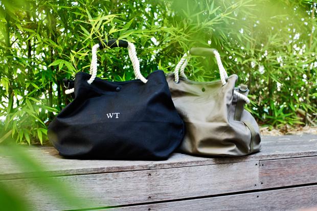 WTAPS Canvas Beach Bags