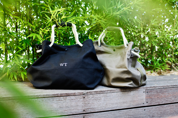 wtaps canvas beach bags