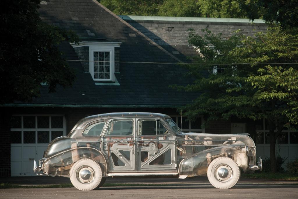 "1939 Pontiac Deluxe Six ""Ghost Car"""