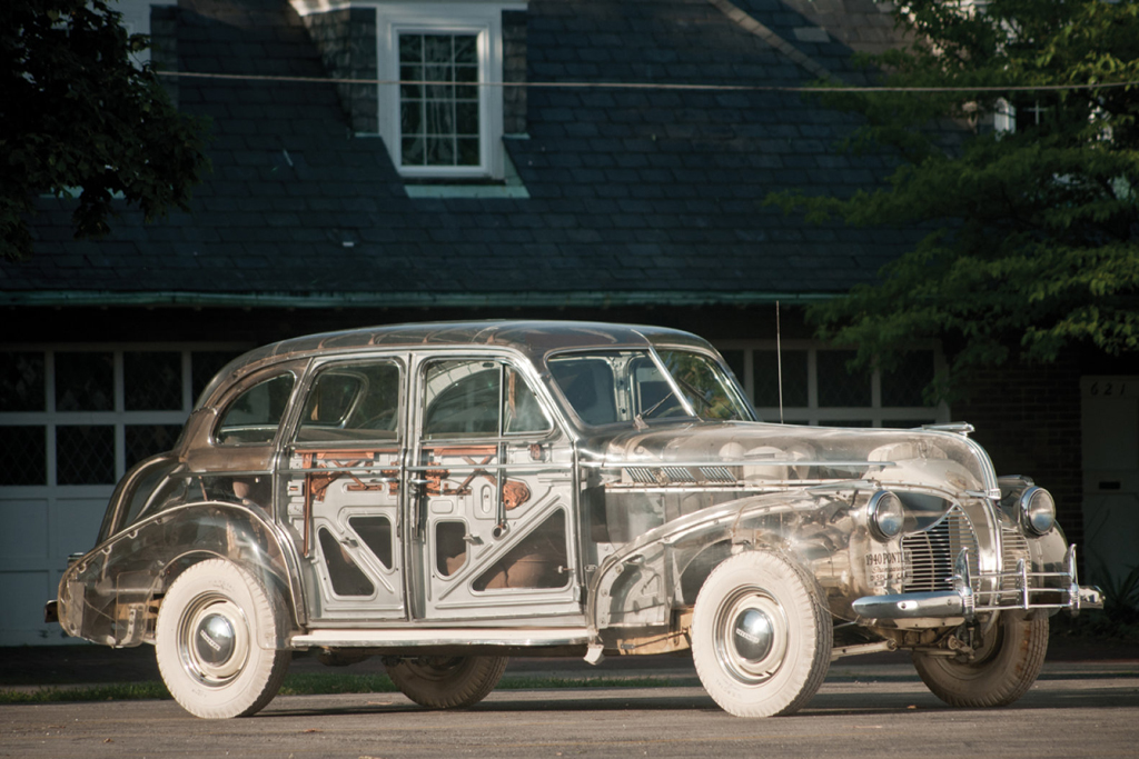 1939 pontiac deluxe six ghost car