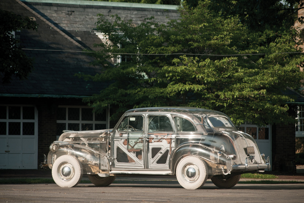 "1939 Pontiac Deluxe Six ""Ghost Car"""
