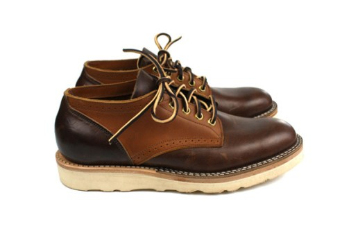 4 Horsemen Supplies x Viberg Saddle Oxford