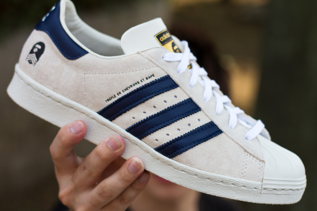 A Bathing Ape x adidas Originals Superstar Release Recap
