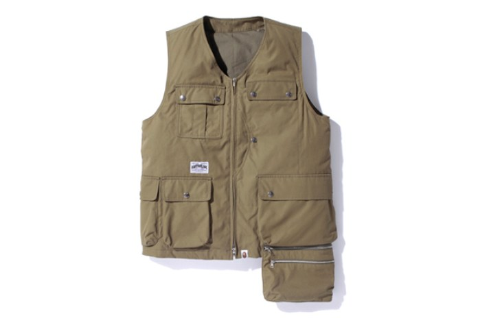 A Bathing Ape Fishing Vest