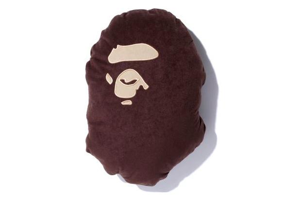 a bathing ape flannel cushion