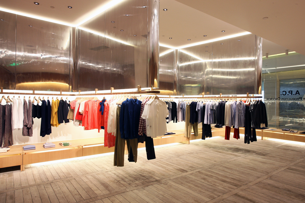 a p c beijing store opening