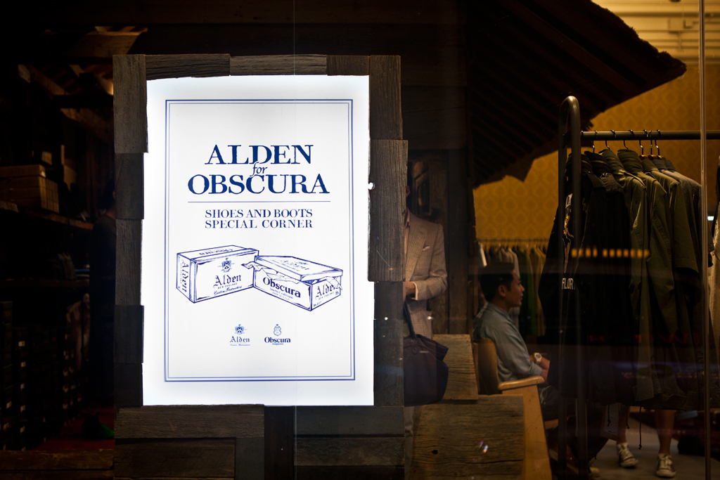 http://hypebeast.com/2011/8/alden-for-obscura-magazine-capsule-collection-launch-think-silly-event-recap