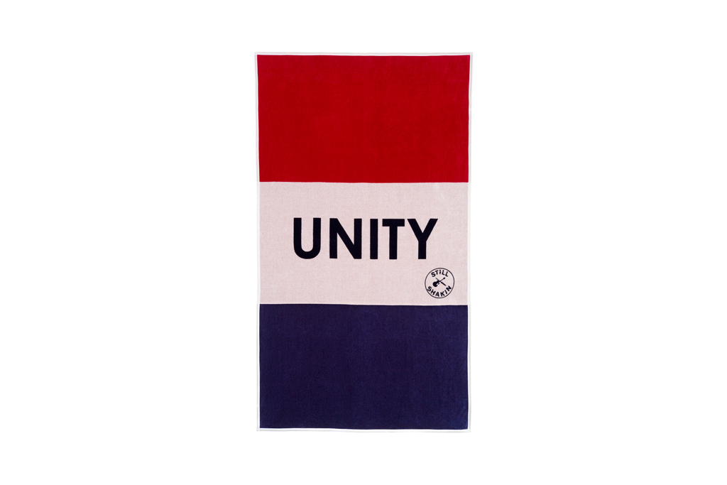 a p c unity beach towel