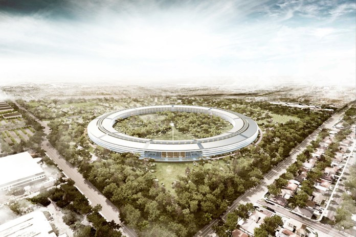 Apple Campus in Cupertino by Foster + Partners