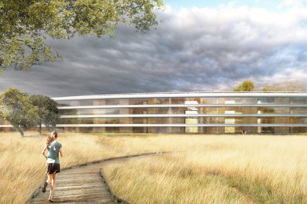 apple campus in cupertino by foster partners