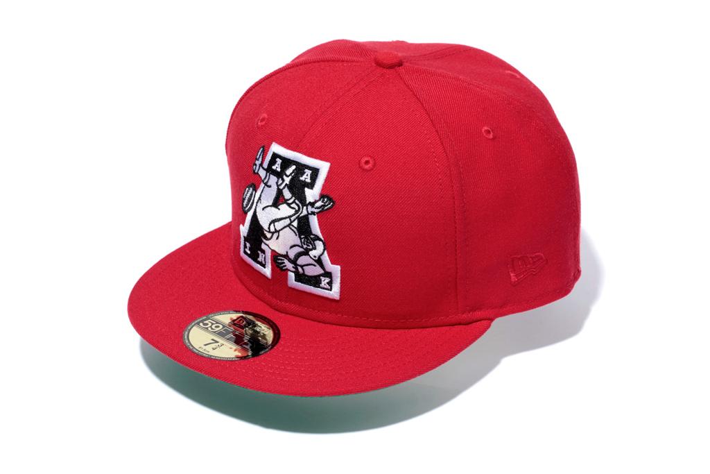 bape x new era gridiron emblem cap