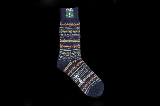 BEAMS + Fair Isle Socks