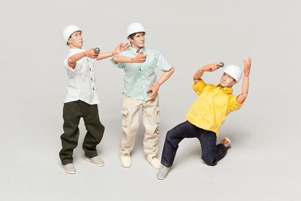 Beastie Boys Action Figure Set