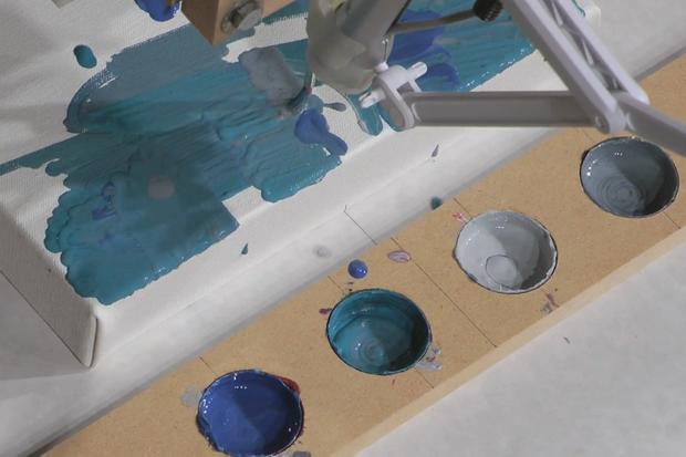 Benjamin Grosser: Interactive Robot Painting Machine